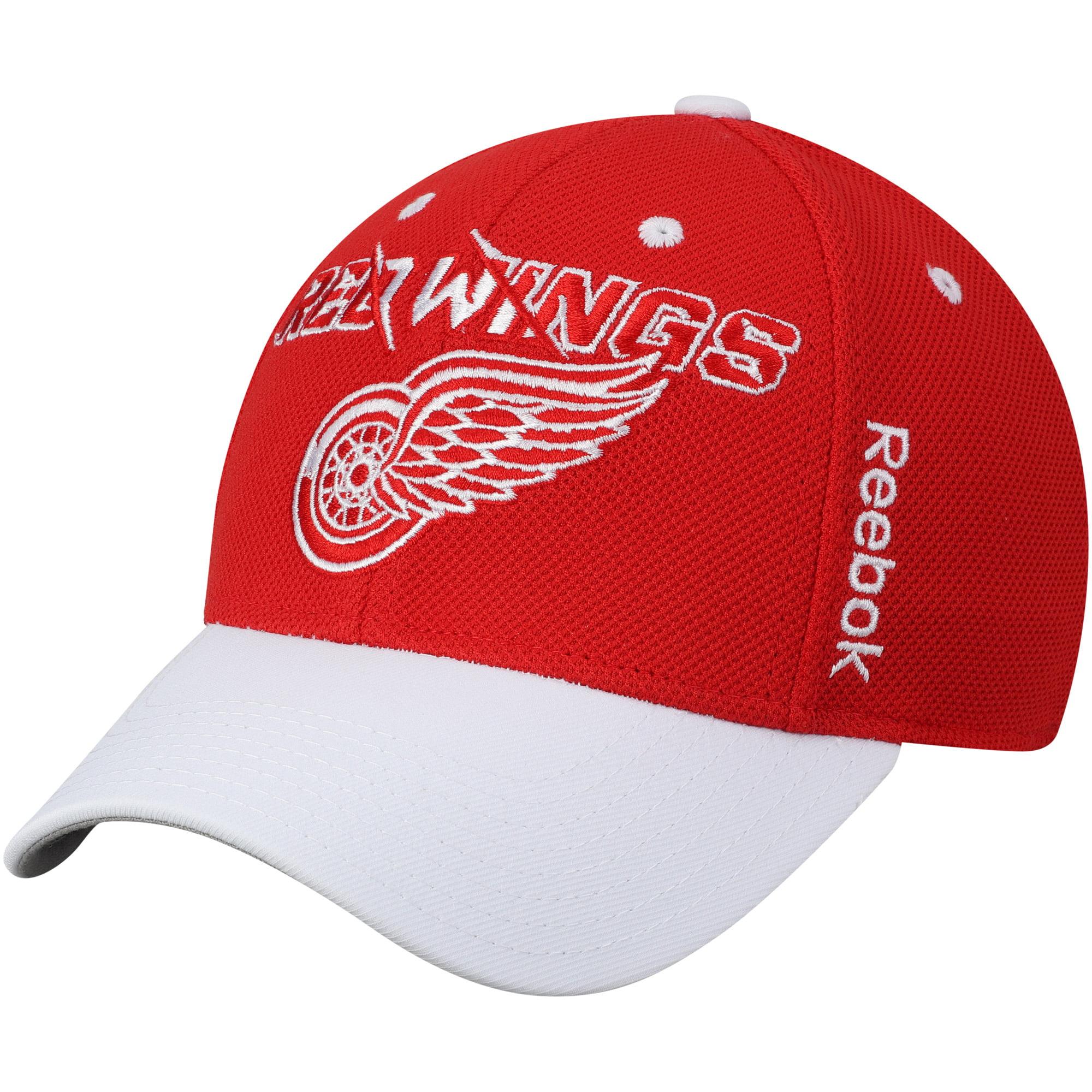 Detroit Red Wings Reebok Second Season Flex Hat - Red