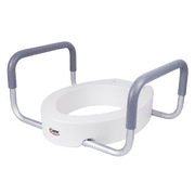 Best DMI Raised Toilet Seats - Carex Raised Toilet Seat With Handles, Standard Elongated Review