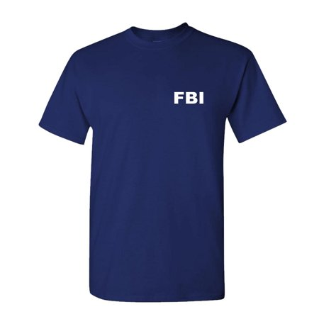 FBI - novelty duty bureau investigation - Mens Cotton - Fun Novelty T-shirt