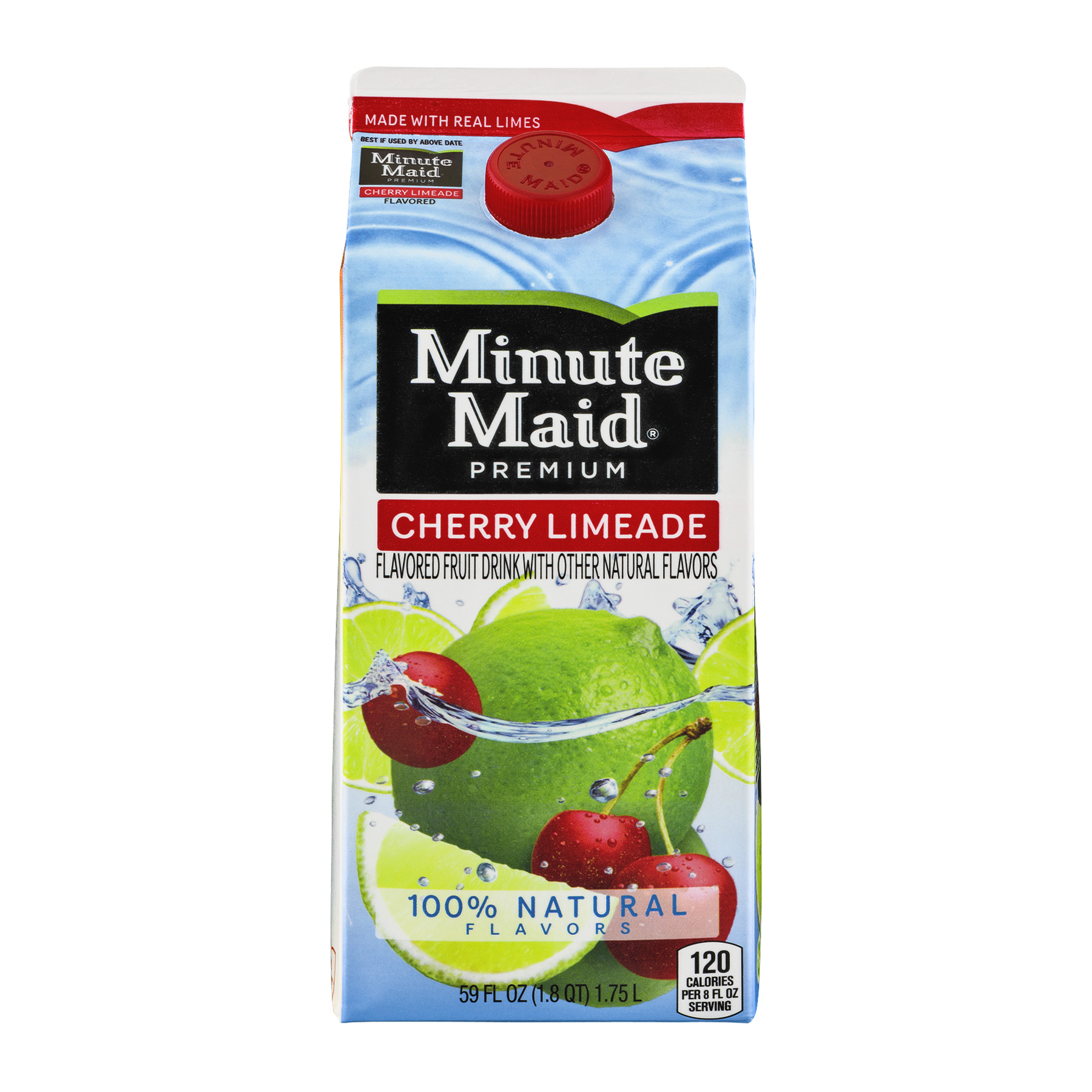Minute Maid Premium Cherry Limeade, 59.0 FL OZ
