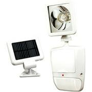 sunforce solar security light with remote. Black Bedroom Furniture Sets. Home Design Ideas