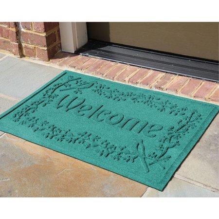 Waterhog 2' x 3' Bird on a Branch Welcome Doormat - Moisture Waterhog Grand Classic Mat