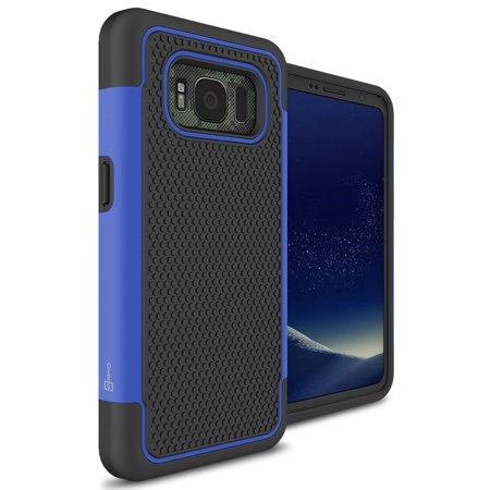 separation shoes 53a9a 4f139 CoverON Samsung Galaxy S8 Active Case, HexaGuard Series Hard Phone Cover