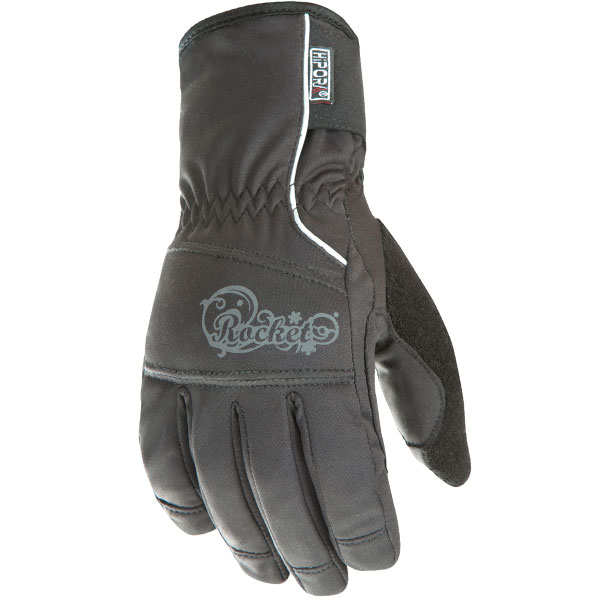 Joe Rocket Ballistic 7.0 Womens Black Waterproof Gloves