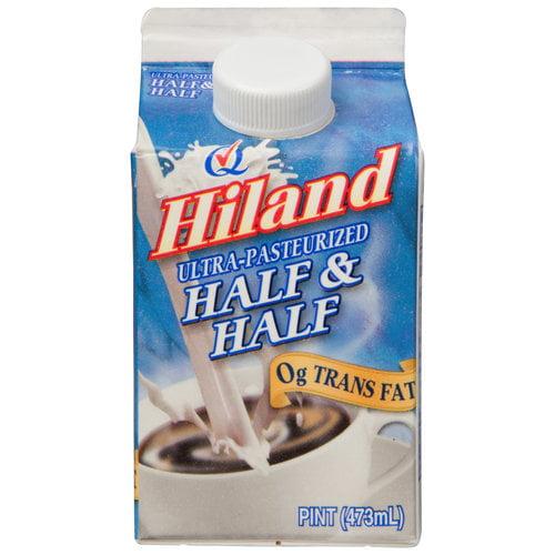 Hiland Dairy Foods Hiland  Half & Half, 1 pt