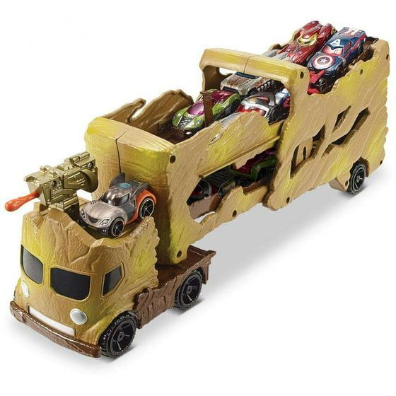 Hot Wheels Marvel Groot Hauler Vehicle - Walmart.com