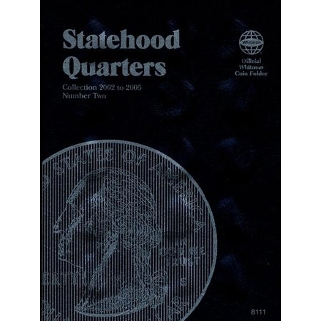 Official Whitman Coin Folder: Statehood Quarters: Complete Philadelphia & Denver Mint Collection (Other)