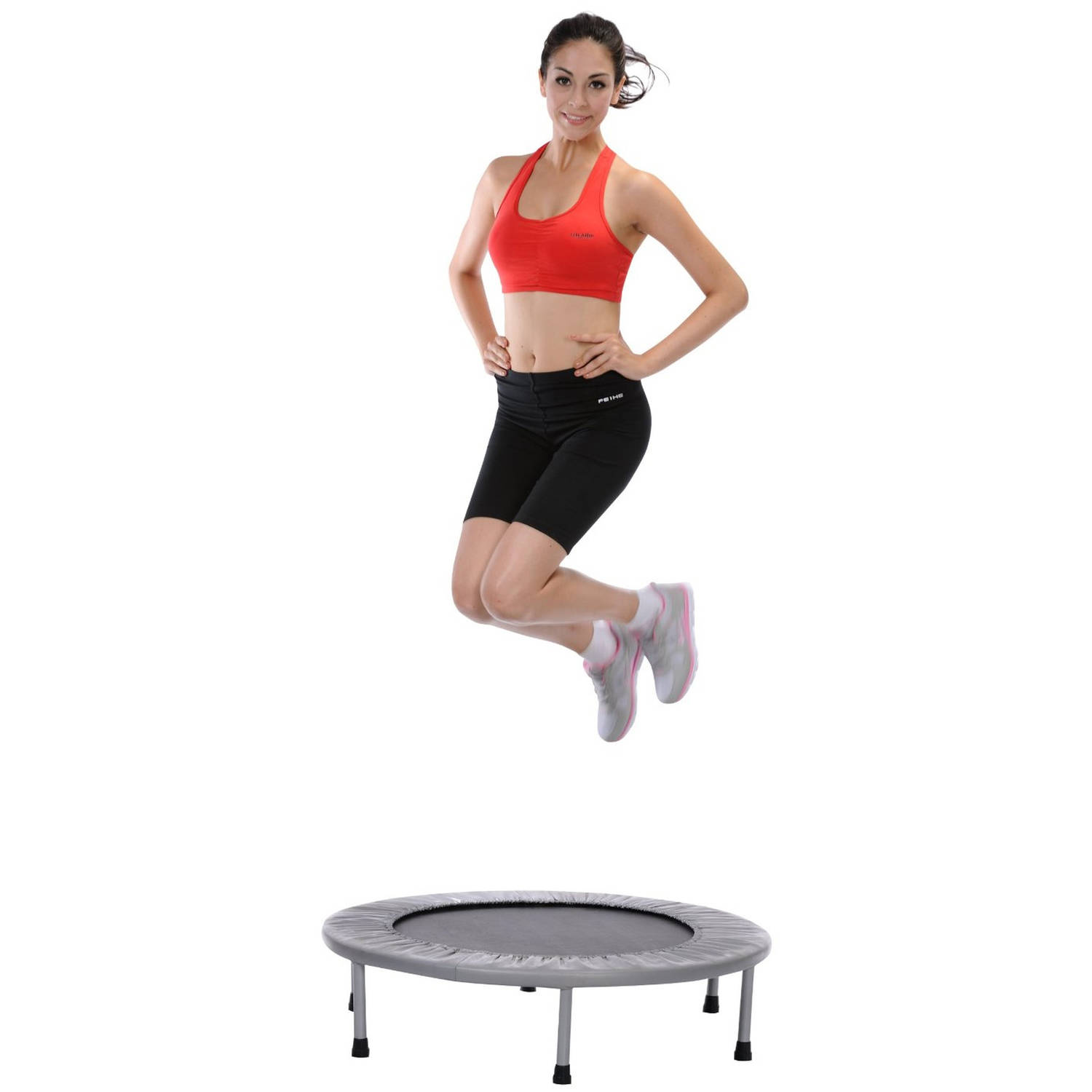 36 mini gym trampoline indoor outdoor round spring pad exercise jumping workout ebay. Black Bedroom Furniture Sets. Home Design Ideas