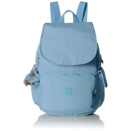 Kipling Women's City Pack Backpack Blue Beam Tonal