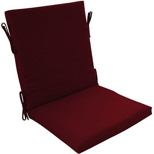 Burgundy Clean Finish Chair Cushion