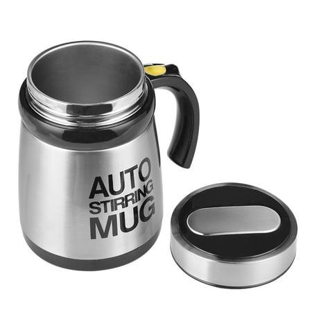 Automatic Coffee Stirring Mug Electric Milkshake Cup Grain Powder Mixing Cup Shaker - image 9 de 9