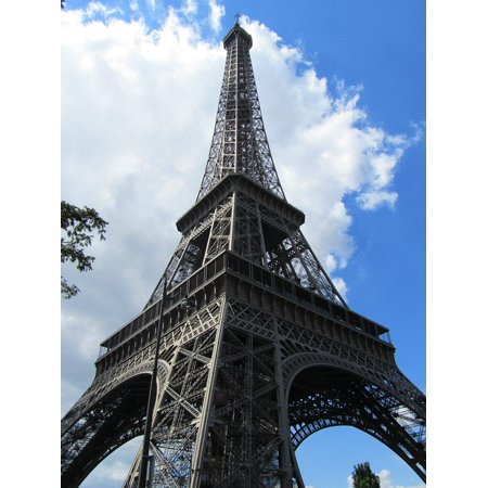 Halloween La Villa Paris (LAMINATED POSTER Eiffel Tower Paris Viva La France France Poster Print 24 x)