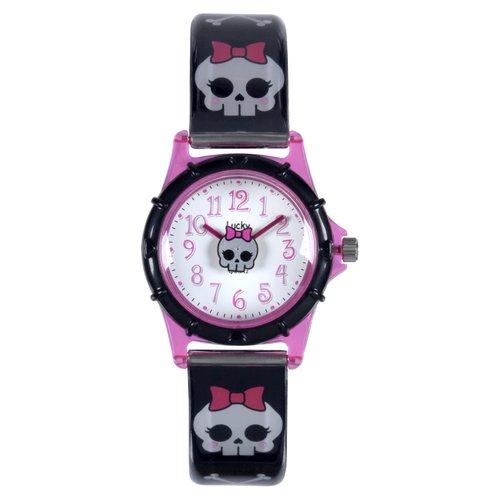 Dingbats Kids' Lucky Watch, Bow Skull