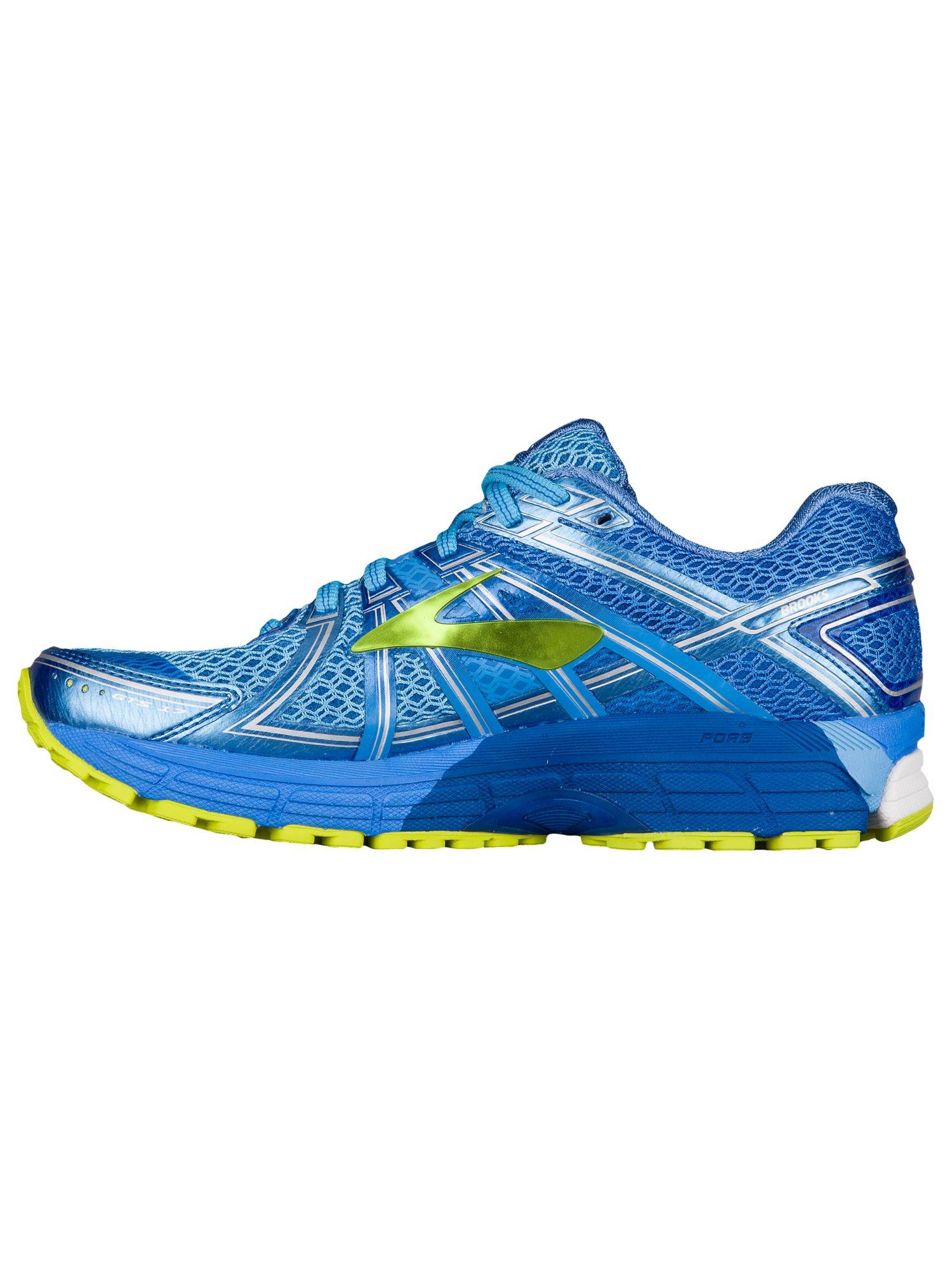 a7a2732cacb Brooks - Brooks Adrenaline GTS 17 - Women s - Running - Shoes - Azure Blue Palace  Blue Lime Punch - Walmart.com
