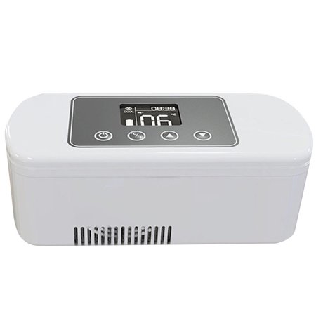 Reefer Box (Dison Portable Insulin Cooler 2-8°C Refrigerated Box Drug Reefer Car refrigerator)