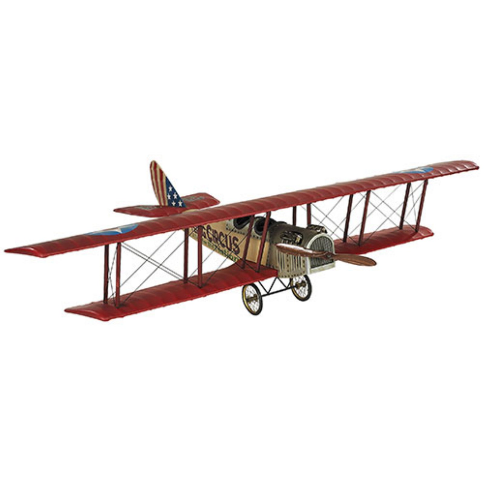 Authentic Models Flying Circus Jenny Model Airplane by Authentic Models