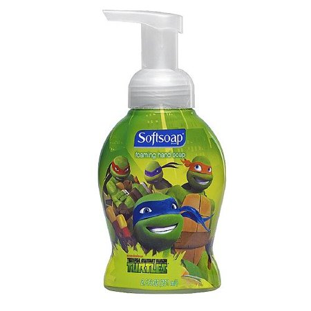 1 x Softsoap Teenage Mutant Ninja Turtles Foaming Liquid Hand Soap 8.5 fl oz (251