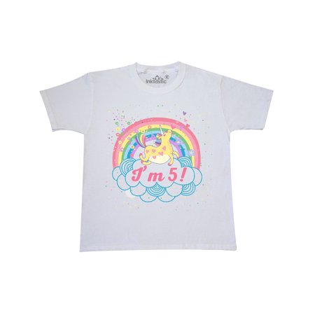 5th Birthday Girl (5th Birthday Unicorn Rainbow Girls Youth)