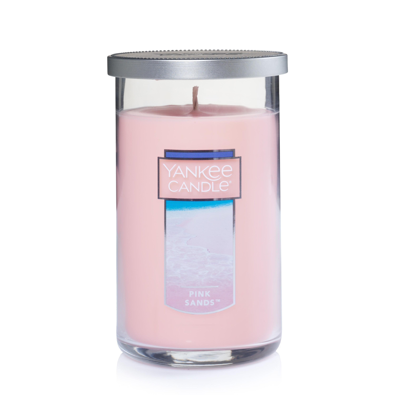 Yankee Candle Pink Sands - Medium Perfect Pillar Candle