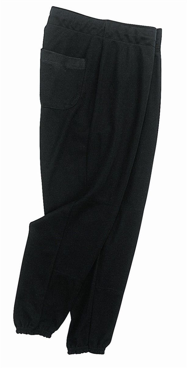 Martin Sports YOUTH Pull-Up Baseball BLACK Softball Pants