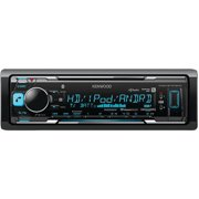 Kenwood KMM-BT518HD Single-DIN In-Dash MP3 Digital Media Receiver with Bluetooth, HD Radio and SiriusXM Ready