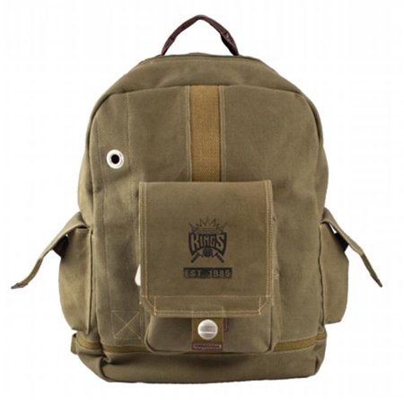 Little Earth Productions 750703-SACR-OLIV Sacramento Kings Prospect Backpack Olive by