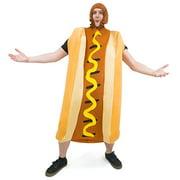 Boo! Inc. Footlong Hotdog & Wiener Bun Halloween Costume, Unisex Men & Women Sausage Suit