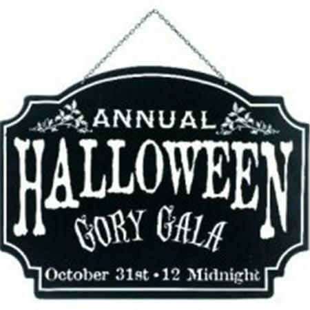 Gory Halloween Food Ideas (Halloween Gory Gala Sign)