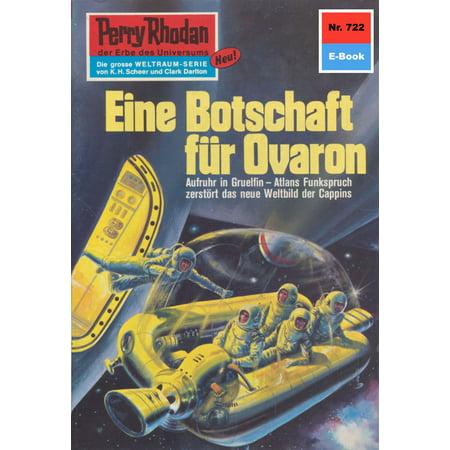 Perry Rhodan 722: Eine Botschaft für Ovaron - eBook (Eine Harry-potter-kostüm)