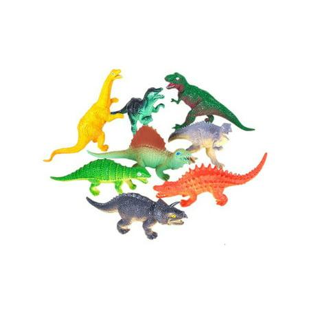 Vinyl Dinosaurs - Set 12 Assorted 5.5