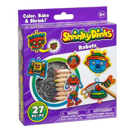 Shrinky Dinks Robots Activity Set