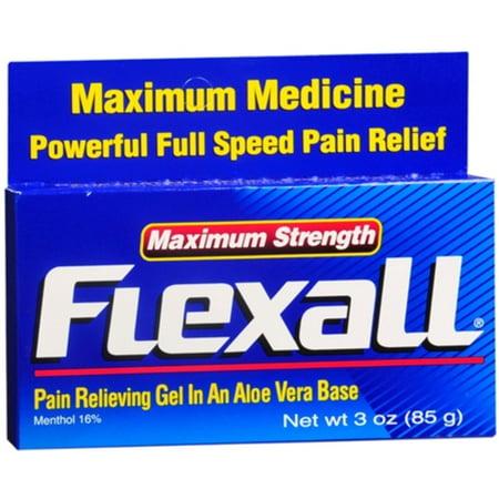 - Flexall Gel Maximum Strength 3 oz (Pack of 3)