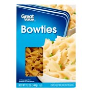 (4 pack) Great Value Bowties, 12 oz