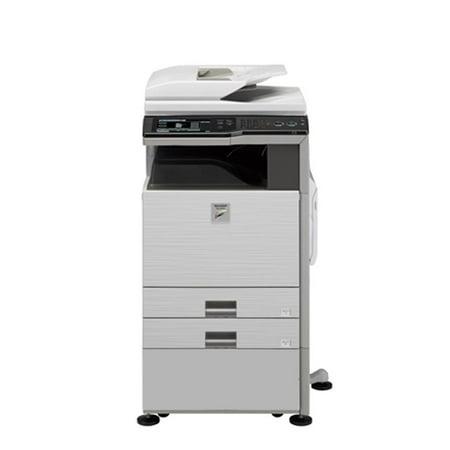 Refurbished Sharp MX-3100N A3 Color Laser Multifunction Copier - 31ppm, Print, Copy, Scan, Auto Duplex, Network, 1200 x 1200 dpi, 2 Trays, Cabinet