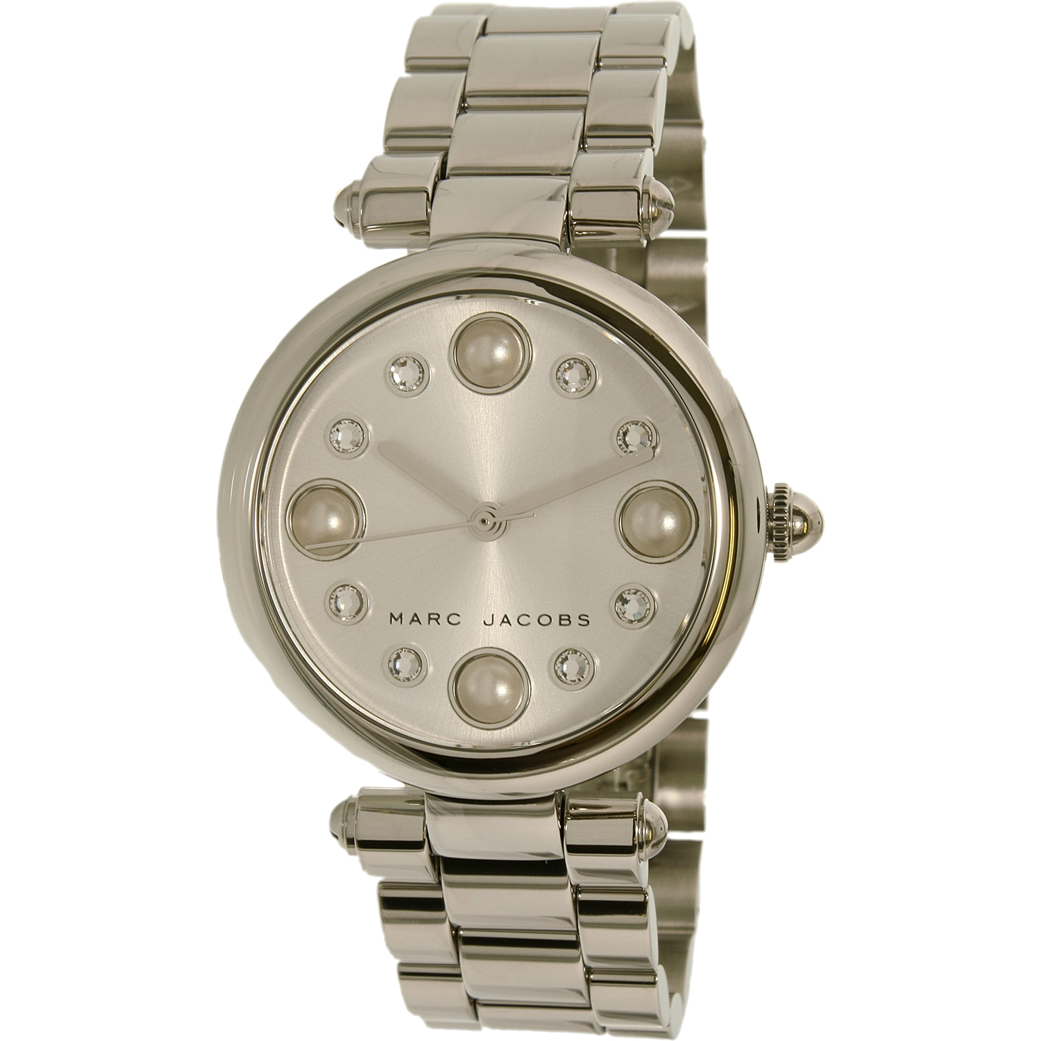 Marc By Marc Jacobs Women's Dotty MJ3475 Silver Stainless-Steel Quartz Fashion Watch