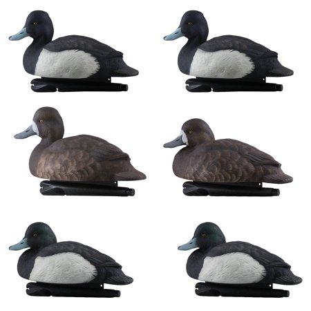 Avian X Foam Filled Floating Blue Bill Duck Waterfowl Hunting Decoys (6 Pack)