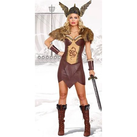 Dreamgirl Voracious Viking Women's Costume - Costumes Vikings