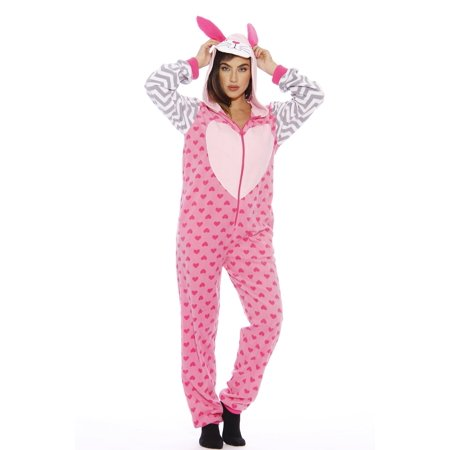 Just Love - Bunny Heart Adult Onesie (Small) - Walmart.com 8ec512fd6