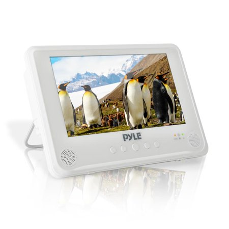 PYLE PLMRDV94 - 9'' Waterproof Rated Portable CD/DVD Player, Built-in Rechargeable Battery, USB/SD (Best Rated Blu Ray Player)