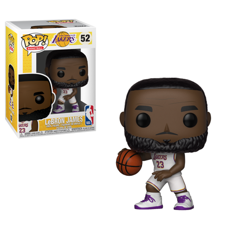 Funko POP! NBA: Lakers - Lebron James (White Uniform) ()