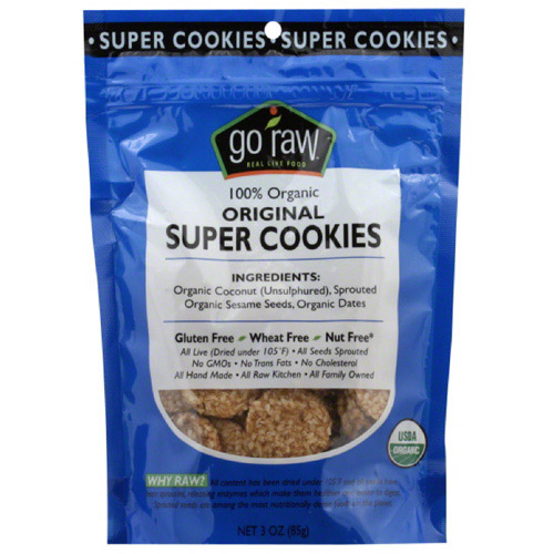 Cookie Super Ccnut Org, 3 Oz  (pack Of 1