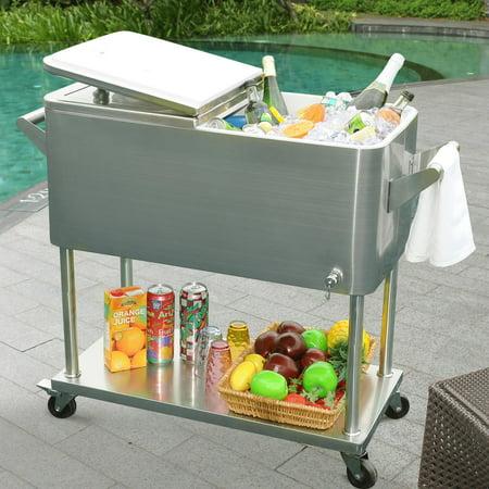 Sunjoy 111105005 80 Qt Cooler