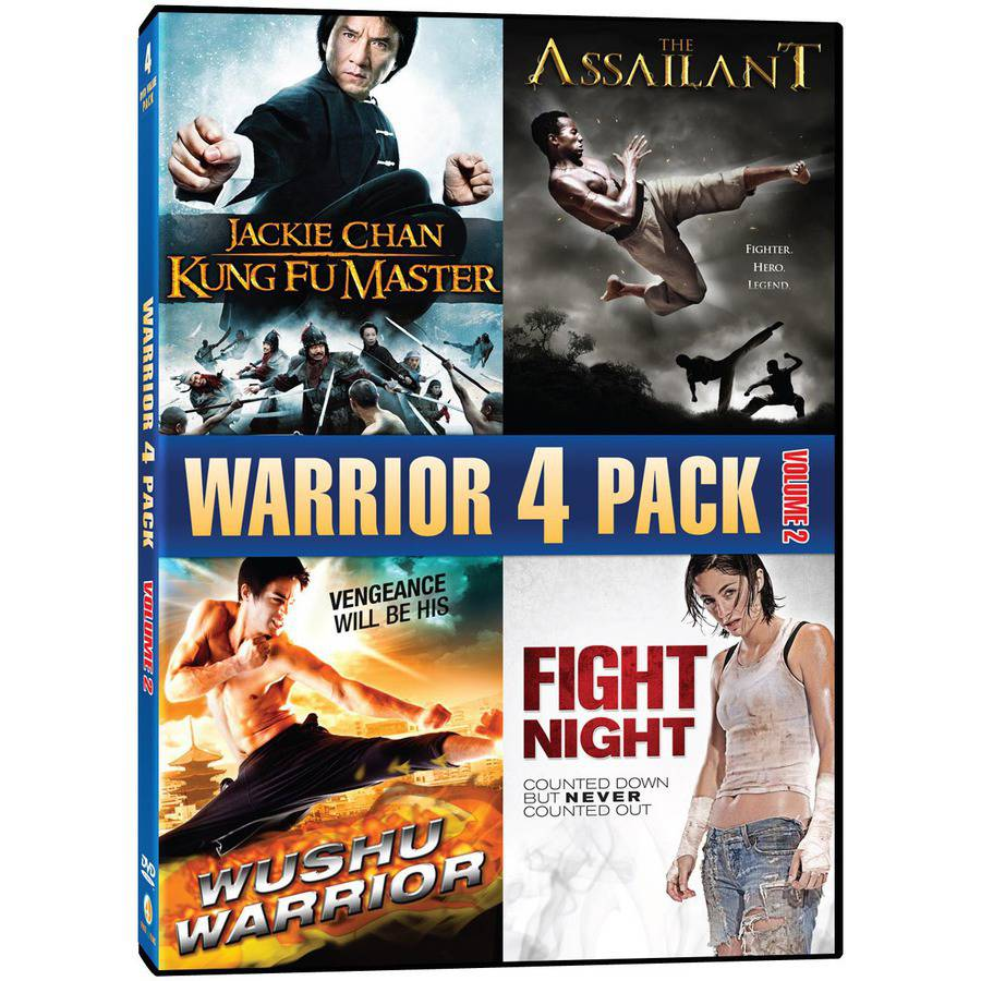 Warrior 4 Pack, Vol. 2 - Kung Fu Master / The Assailant / Wushu Warrior / Fight Night (Widescreen)