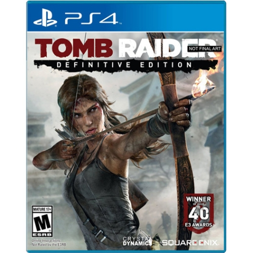 Tomb Raider Definitive Edition, Square Enix, PlayStation 4, 662248913803