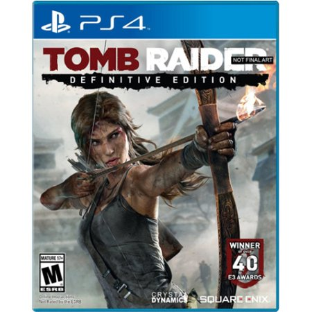 Tomb Raider Definitive Edition, Square Enix, PlayStation 4, (Crystal Dynamics Rise Of The Tomb Raider Ps4)