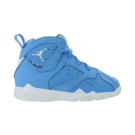 Kids Air Jordan 7 VII Retro PS Pantone University Blue White 304773-40 -  Walmart.com 5ddea520123e
