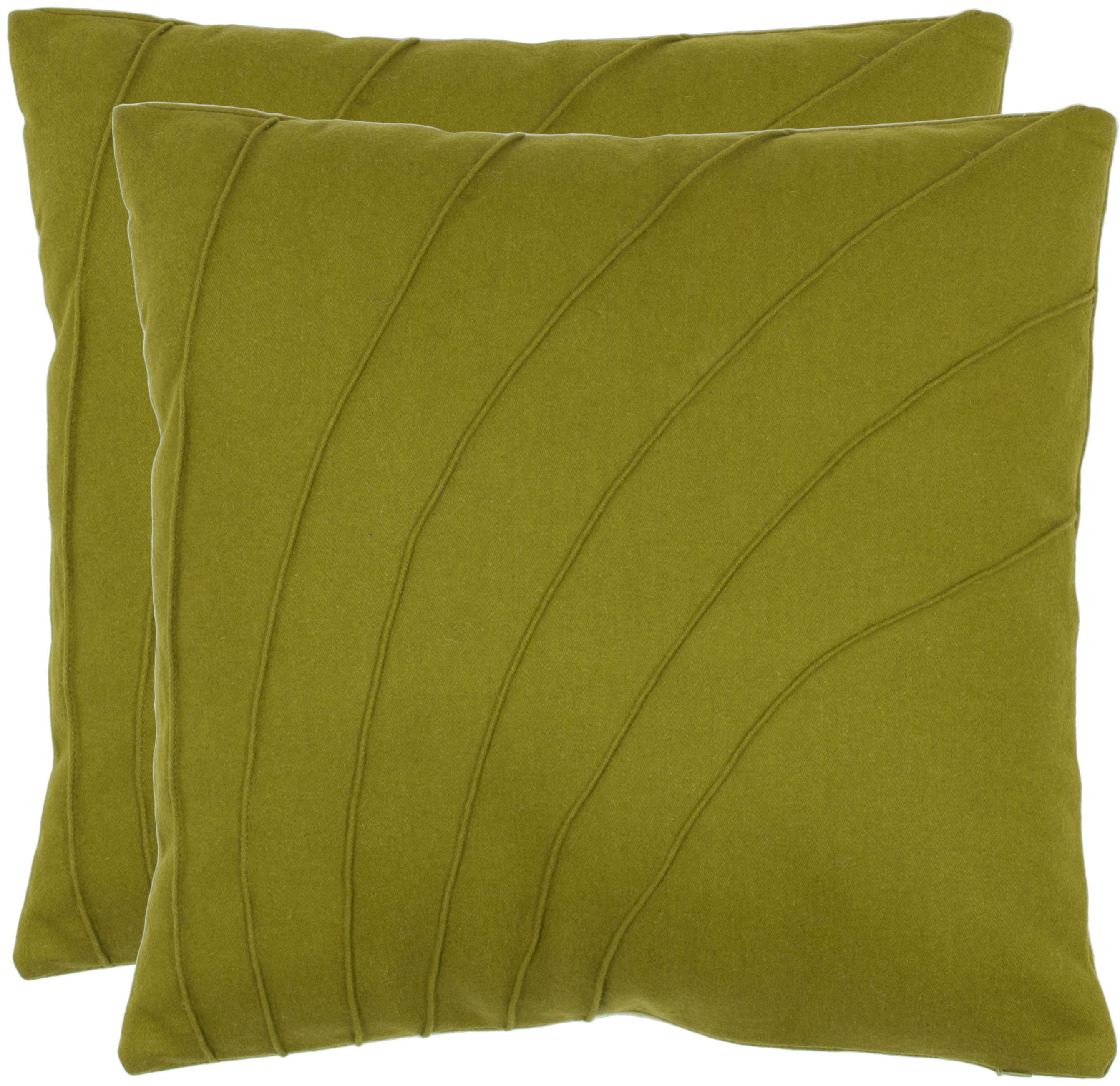 Safavieh Flora Textured Pillow, Set of 2