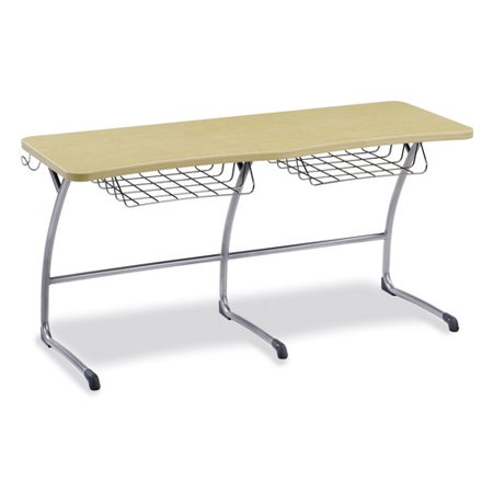 Virco Zuma Series Wood 29 63 Multi Student Desk Walmart Com