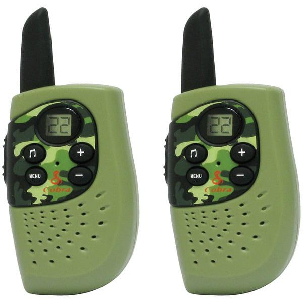 Cobra Electronics Corporation CX112 2 Way Radio Cobra 2 Pack