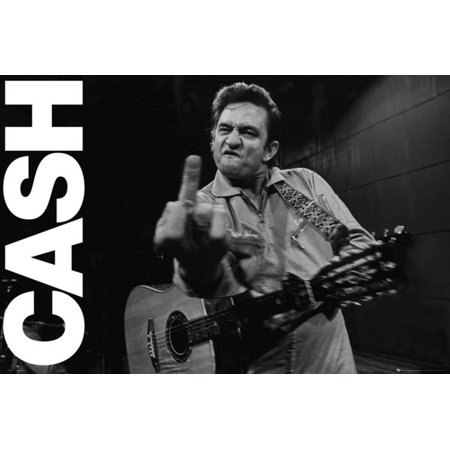 Johnny cash folsom prison poster